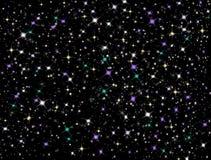 небо звёздное Стоковые Фотографии RF