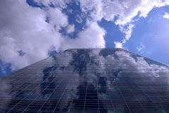 небо здания Стоковое фото RF