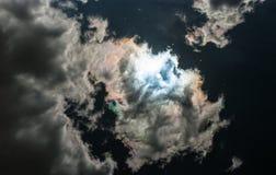 Небо зеркала стоковые изображения rf