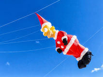Небо змея Санта Клауса голубое Стоковое Изображение RF