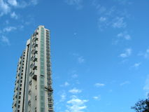 небо зодчества красивейшее стоковое изображение