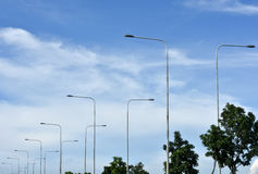 Небо & индикатор питания Стоковое Изображение RF