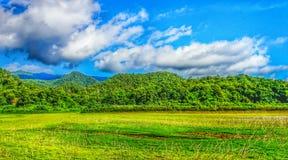 Небо и гора Стоковое Изображение RF