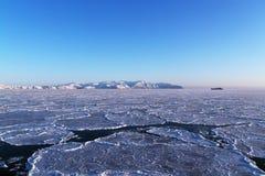 Небо и лед Стоковое Изображение RF