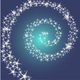 Небо и Звездный путь Стоковые Изображения RF