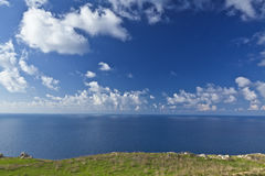 Небо и море земли Стоковое фото RF