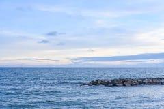 Небо и море Стоковые Изображения