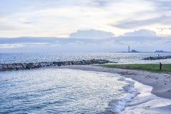 Небо и море Стоковые Изображения RF