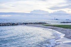 Небо и море Стоковые Фото