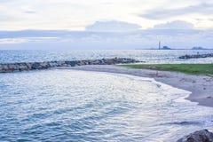 Небо и море Стоковая Фотография RF