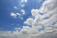 Небо и облака в Таиланде Стоковое Изображение