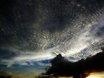 Небо и облака на Таиланде Стоковая Фотография