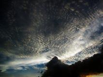 Небо и облака на Таиланде Стоковое Изображение RF