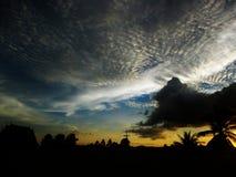 Небо и облака на Таиланде Стоковое фото RF