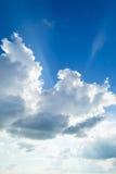 Небо и облако красоты голубое Стоковое фото RF