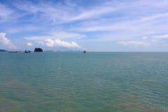 Небо и океан Стоковые Фотографии RF