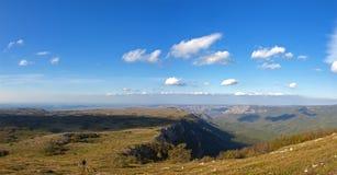 Небо и плато Стоковые Изображения RF