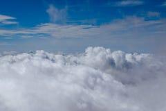 Небо и предпосылка облаков Стоковая Фотография