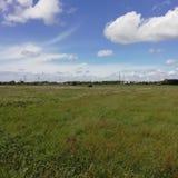 Небо и свободный ландшафт стоковые изображения