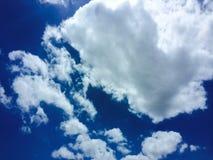Небо и смогло стоковая фотография rf