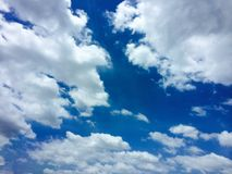 Небо и смогло стоковое фото rf