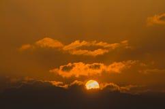 небо и солнце Стоковое Изображение