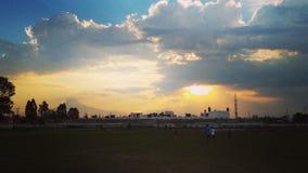 небо и солнце Стоковые Фото