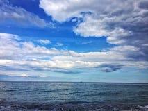 Небо и чернота Стоковое Изображение RF