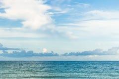Небо и ocsen Стоковые Изображения RF