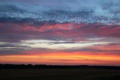 Небо как покрашено стоковая фотография
