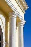 небо колонок свода голубое вниз Стоковое Изображение