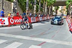Небо команды времени гонок велосипеда пробное стоковое фото rf