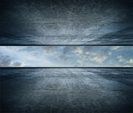 небо комнаты стоковые фотографии rf