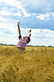небо, котор нужно коснуться Стоковая Фотография RF