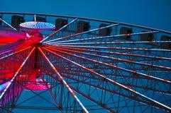Небо колеса Ferris стоковое фото rf