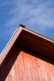 небо крыши предпосылки Стоковая Фотография
