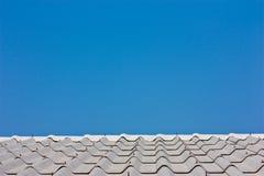 небо крыши Стоковая Фотография