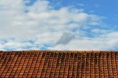небо крыши Стоковые Фотографии RF