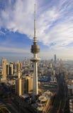 небо Кувейта Стоковое Изображение RF