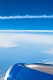 небо к путю Стоковая Фотография