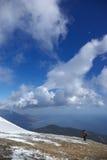 небо ландшафта Стоковая Фотография RF