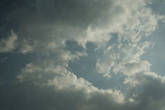 Небо лета солнечное Стоковые Фотографии RF