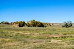 небо места дороги голубой сельской местности пустое Стоковое фото RF