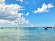 Небо & море Стоковые Изображения