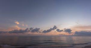 Небо моря панорамы Стоковые Изображения RF