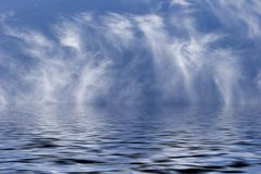 небо моря Стоковая Фотография RF