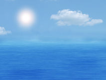 небо моря Стоковое Изображение