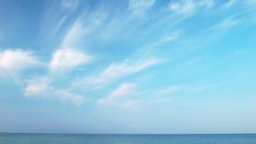 Небо моря сток-видео