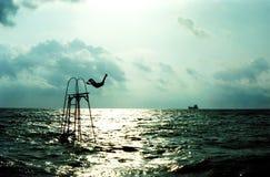 небо моря Стоковое Изображение RF