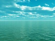 небо моря Стоковые Фотографии RF